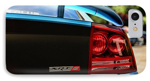 Dodge Charger Srt8 Rear IPhone Case by Paul Ward
