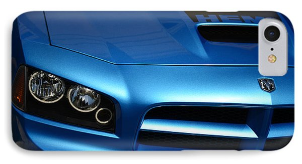 Dodge Charger Srt8 Super Bee IPhone Case by Paul Ward