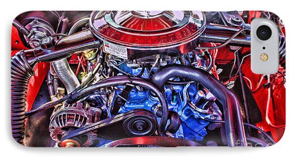Dodge Motor Hdr Phone Case by Randy Harris