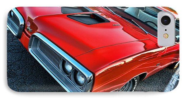 Dodge Super Bee In Red IPhone Case by Paul Ward