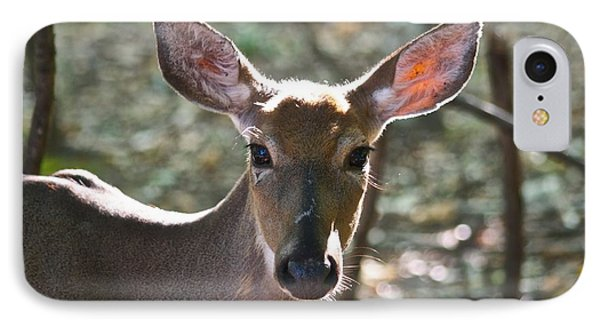 Doe Profile 9734 Phone Case by Michael Peychich