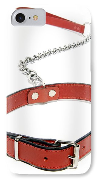 Dog Collar Phone Case by Johnny Greig