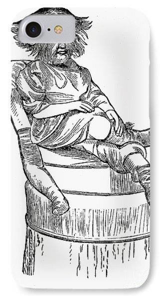 Dog-faced Boy, 1874 Phone Case by Granger