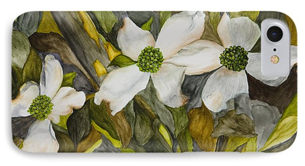 Dogwoods Phone Case by Mary Ann King