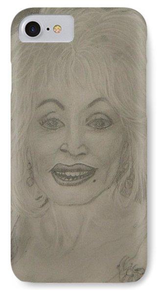 Dolly Parton IPhone Case by Manuela Constantin