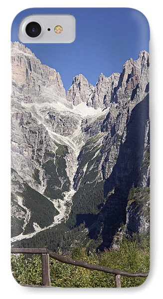 IPhone Case featuring the photograph Dolomiti Di Brenta by Raffaella Lunelli
