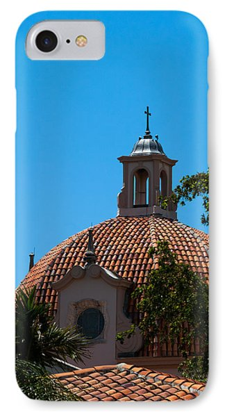 IPhone Case featuring the photograph Dome At Church Of The Little Flower by Ed Gleichman