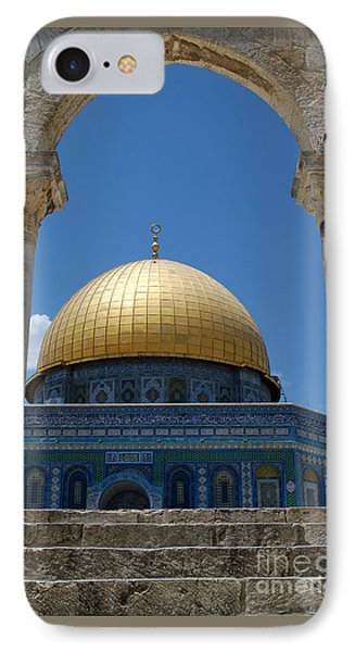 IPhone Case featuring the photograph Dome Of The Rock  by Eva Kaufman