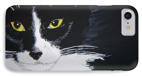 IPhone Case featuring the painting Don't Bug Me by Norm Starks