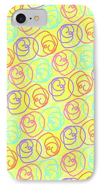 Doodles Phone Case by Louisa Knight