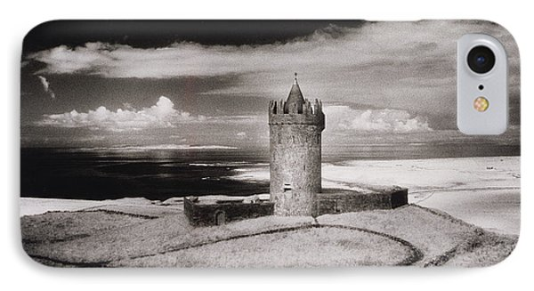 Doonagore Tower IPhone Case by Simon Marsden