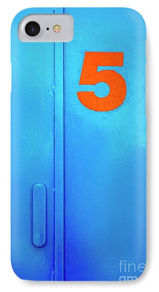 Door Five IPhone Case by Carlos Caetano