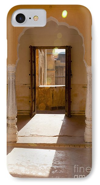 Doorway And Arch In The Amber Fort Phone Case by Inti St. Clair