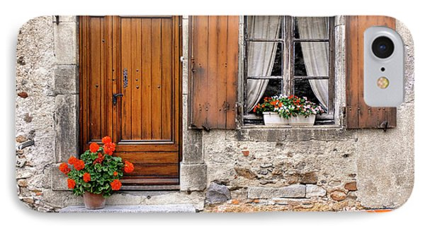IPhone Case featuring the photograph Doorway And Window In Provence France by Dave Mills