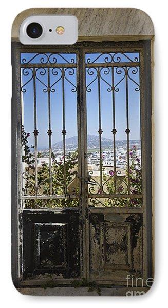 Doorway To Santorini Phone Case by Dennis Hedberg