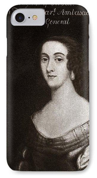 Dorothy Osborne, English Letter Writer Phone Case by Middle Temple Library