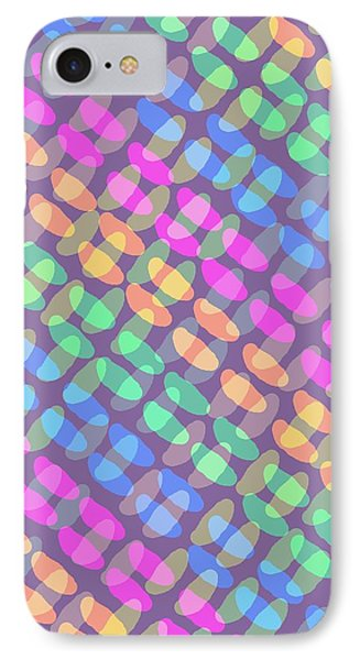 Dotted Check IPhone Case by Louisa Knight