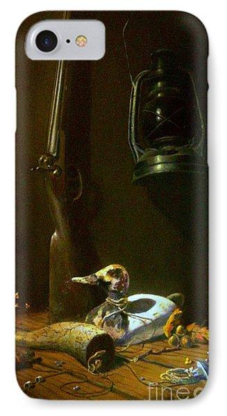 Double Hammer Duck Hunt Phone Case by Tom Jennerwein