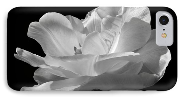 IPhone Case featuring the photograph Double Late Angelique Tulip by Darleen Stry