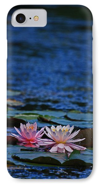 Double Lily Phone Case by Karol Livote
