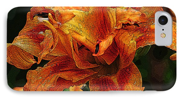 IPhone Case featuring the photograph Double Lily by Michael Friedman