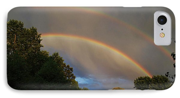 Double Rainbow Phone Case by Science Source
