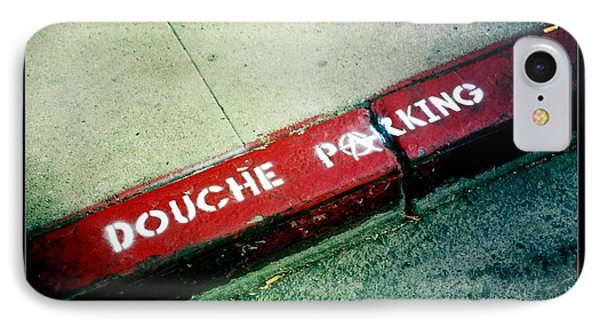 Douche Parking Phone Case by Nina Prommer