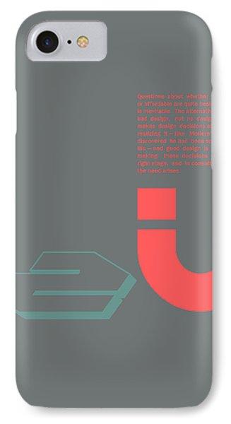 Douglas Martin Poster IPhone Case by Naxart Studio