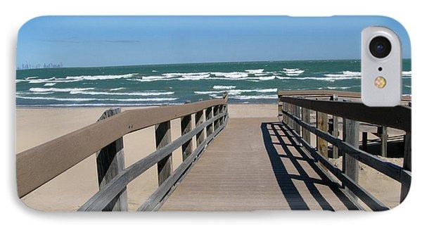 Down To The Beach IPhone Case by Cedric Hampton