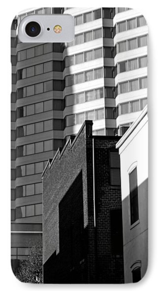 Downtown Lines IPhone Case by Jean Haynes
