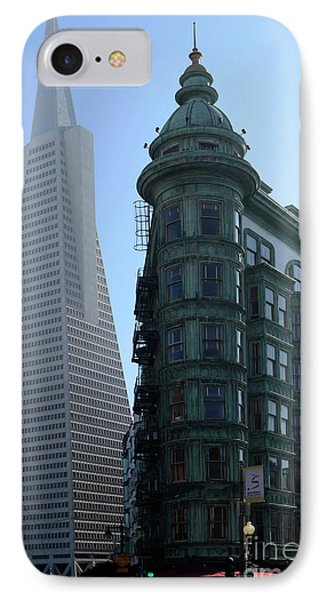 Downtown San Francisco 2 Phone Case by Bob Christopher