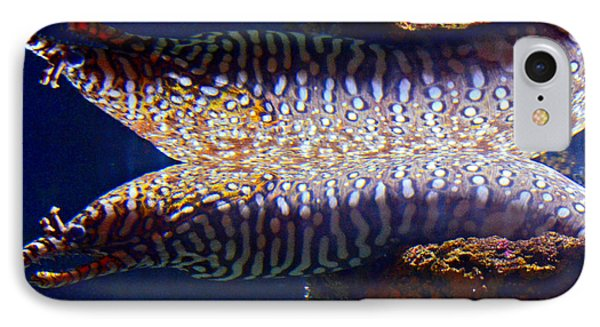 Dragon Moray Eels Phone Case by Pravine Chester