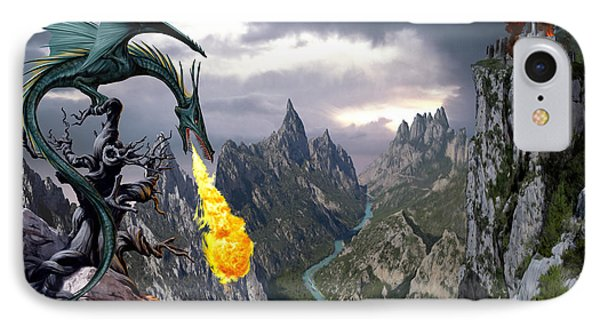 Dragon Valley IPhone Case by The Dragon Chronicles - Garry Wa