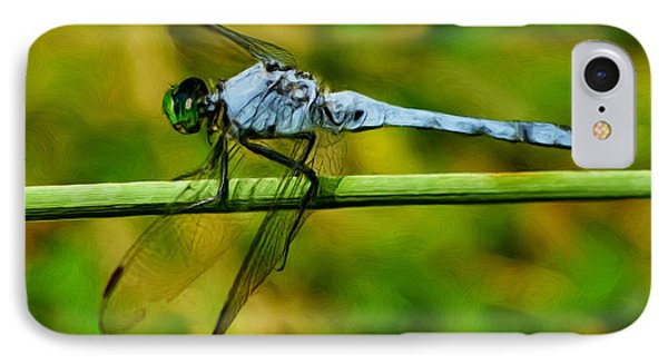 Dragonfly Phone Case by Jack Zulli