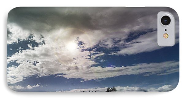 dramatic clouds V Phone Case by Nafets Nuarb