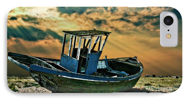 Dramatic Dungeness Phone Case by Meirion Matthias