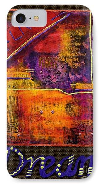 Dream Banner Phone Case by Angela L Walker
