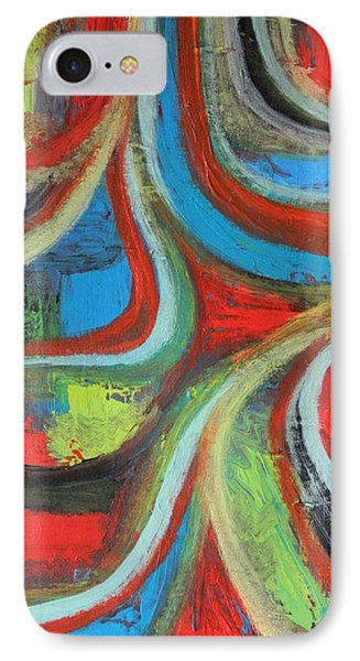 IPhone Case featuring the painting Dream Highway by Everette McMahan jr
