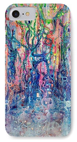 Dream Of Our Souls Awake Phone Case by Regina Valluzzi