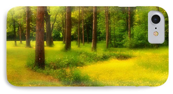Dreamy Meadow IPhone Case by Cindy Haggerty