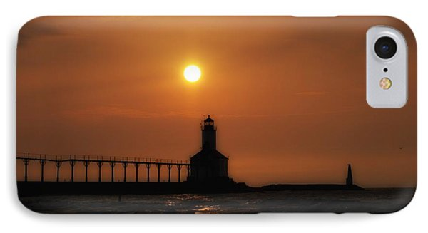 Dreamy Sunset At The Lighthouse IPhone Case