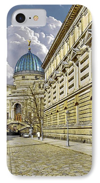 Dresden Academy Of Fine Arts Phone Case by Christine Till