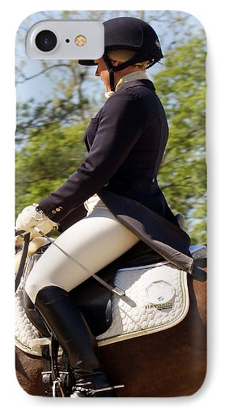 Dressed And Riding Phone Case by Roger Potts