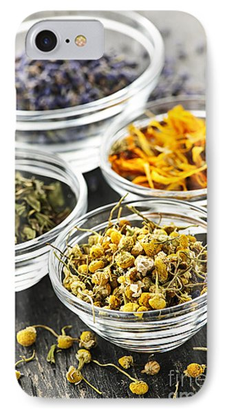 Dried Medicinal Herbs Phone Case by Elena Elisseeva