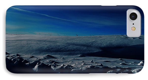 Drifts Of Time IPhone Case by Empty Wall