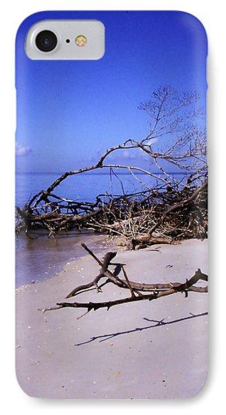 Driftwood Beach Phone Case by Rosalie Scanlon