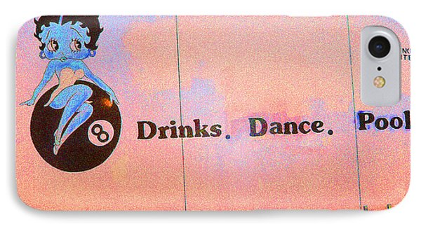 IPhone Case featuring the photograph Drink Dance Pool by Louis Nugent