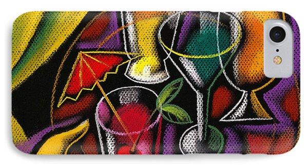 Drinks Phone Case by Leon Zernitsky