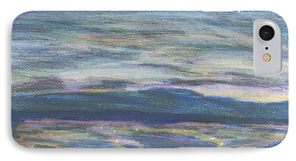IPhone Case featuring the pastel Driving By Utica by Denny Morreale