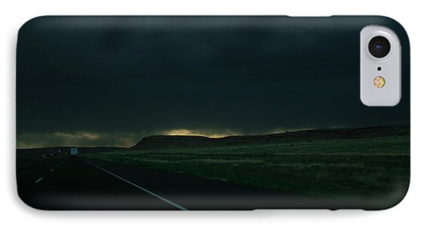 IPhone Case featuring the photograph Driving Rain Number One by Lon Casler Bixby